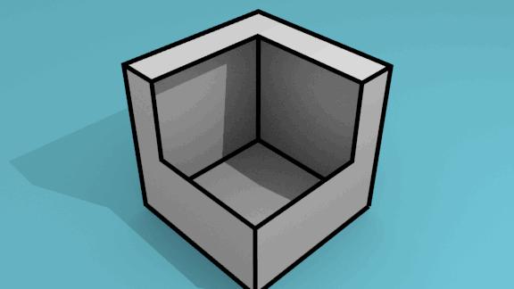 立方体_穴_デフォ
