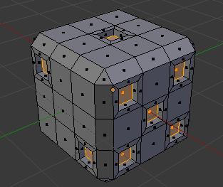 立方体_押し出し