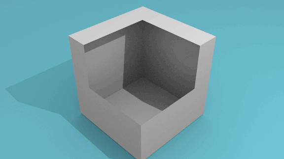立方体_穴