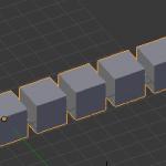 【Blender】配列複製モディファイア【オブジェクトを複数コピーする】