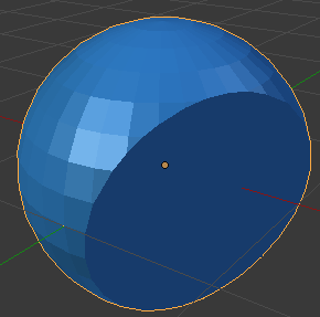 UV球を2等分