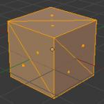 【Blender】三角形化・四角形化・扇状化の使い方