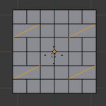 【Blender】辺を時計周りに回転・辺を反時計周りに回転