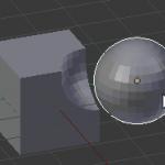 【Blender】ブーリアンモディファイアー【オブジェクト同士の合成・足し算・引き算】